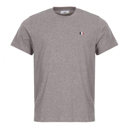 AMI T-Shirt in Grey Heather