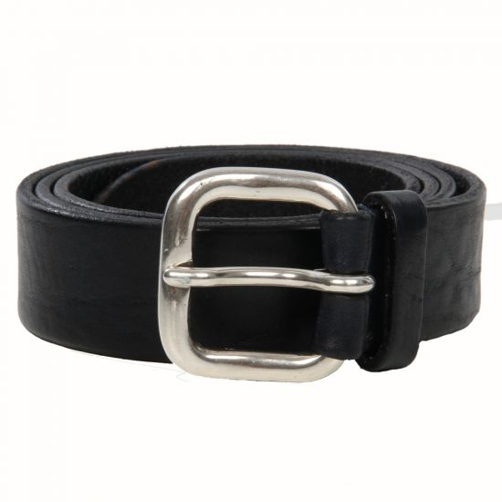 Andersons Belts Navy Leather