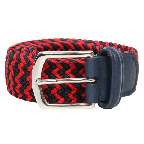 Andersons Red/ Navy Belt