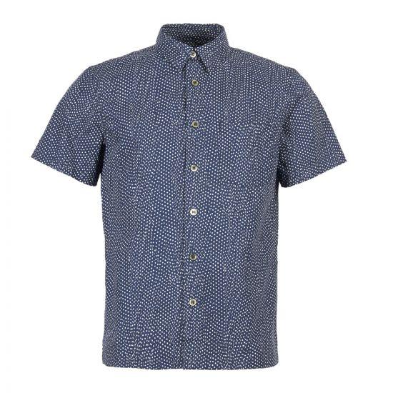 APC Short Sleeve Shirt Cippi COCWR H12335 IAJ Marine