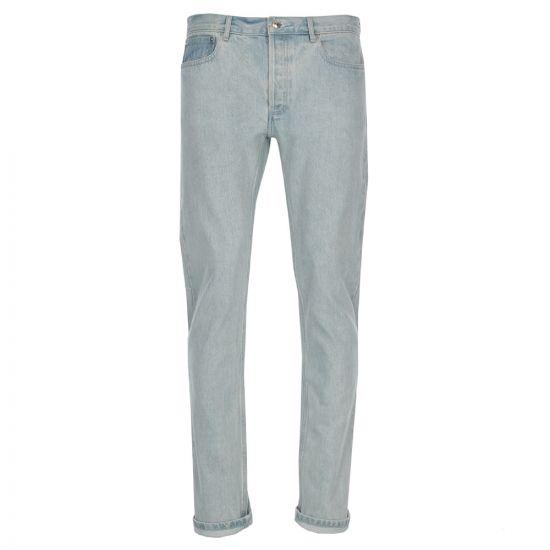 apc jeans petit new standard COZZM M09047 stonewash