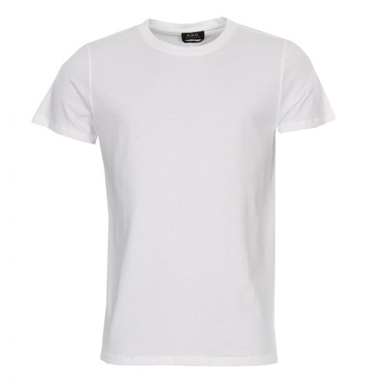 apc t shirt jimmy COBQX-H26504 white