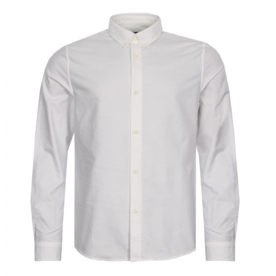 apc shirt oxford cozab-h12121-aab white
