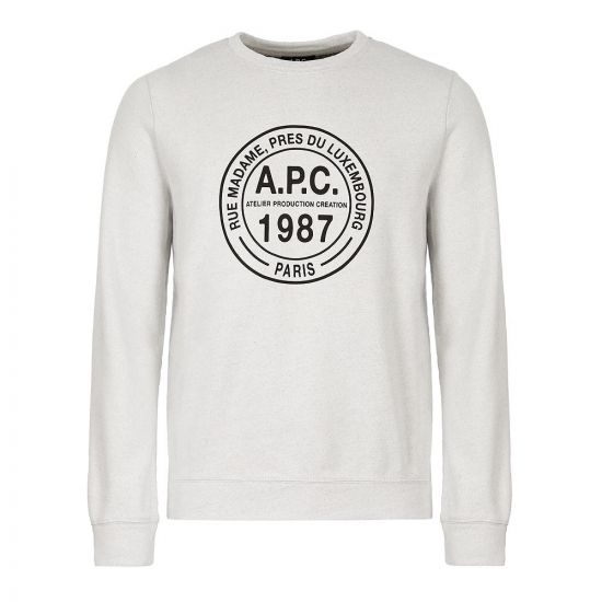 APC Sweatshirt | CODEP H27527 AAF Bleached