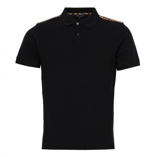 Aquascutum Polo Shirt Hill  | TGAC17 SAWEM NVY Navy