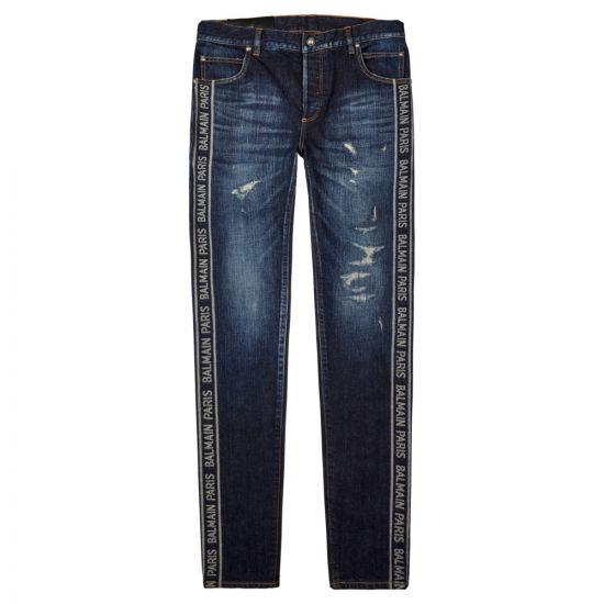 Balmain Jeans   SH15230Z130 6AA Vintage Blue