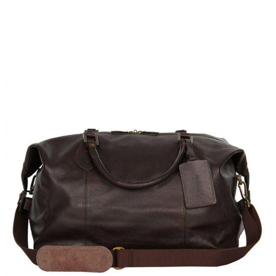 Bag - Chocolate Leather Travel Explorer
