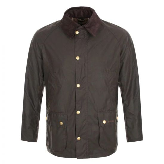 Jacket Ashby Olive Waxed MWX0339