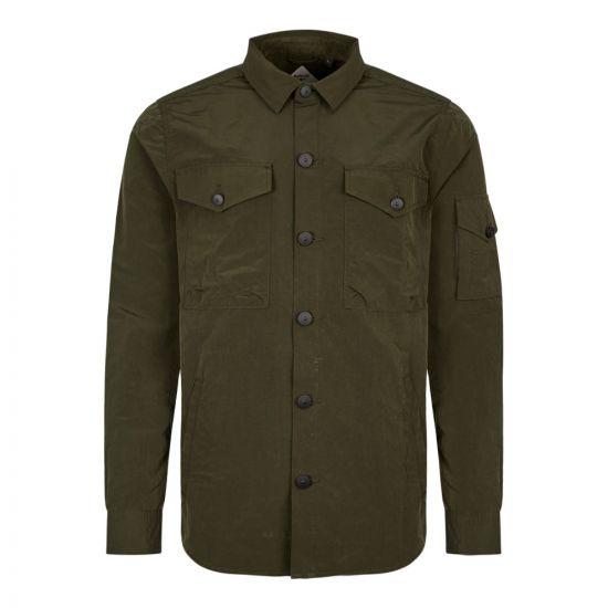 Barbour Beacon Askern Overshirt MOS0036 GN91 Green
