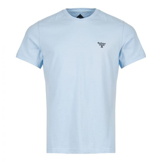 barbour beacon t-shirt MTS0430 BL19 blue