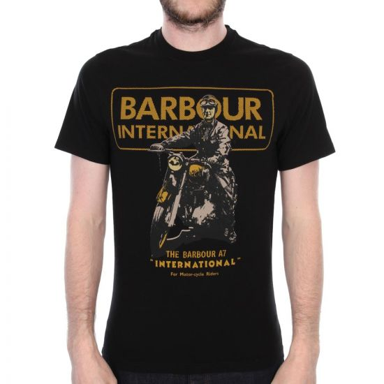 International Archive T-Shirt - Black