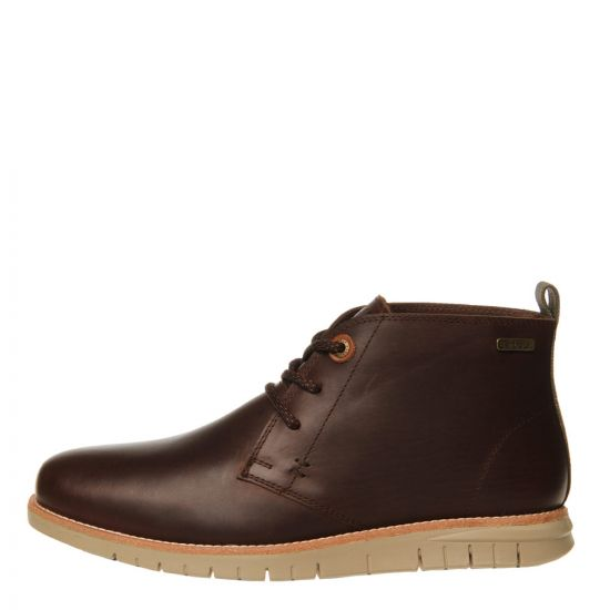 barbour burghley boot MFO0343 BR56 dark brown