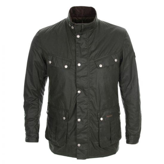 barbour duke jacket MWX0337SG91 sage