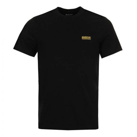 Barbour International T-Shirt Logo MTS0141BK31 Black
