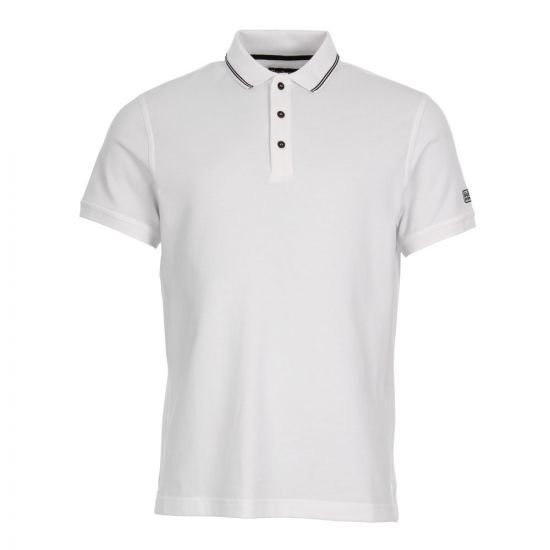 Barbour International Polo Shirt MML0398-WH51 White