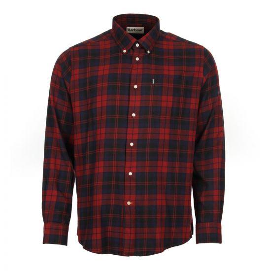 Barbour Seth Shirt MSH3716 Red Aphrodite Clothing