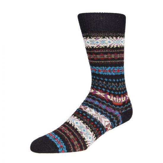 Barbour Socks Navy Boyd MSO0062