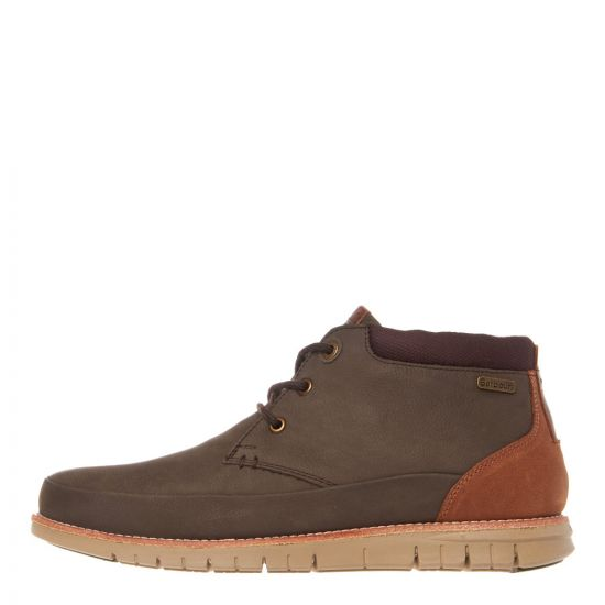 barbour boots nelson MFO0386 BR91 brown