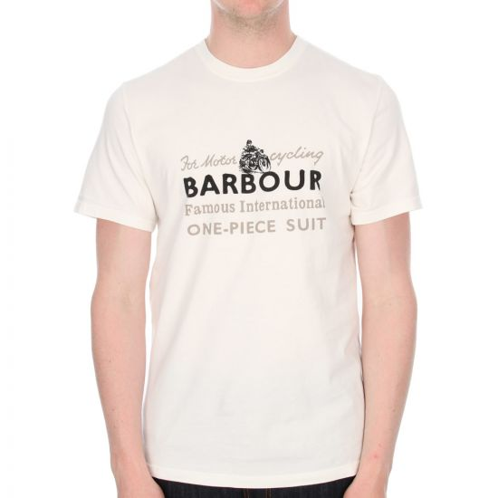 Barbour Barlkie T-shirt in Neutral
