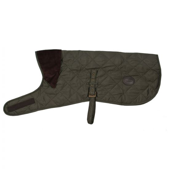 barbour dog coat olive quilted DCO0004GN91