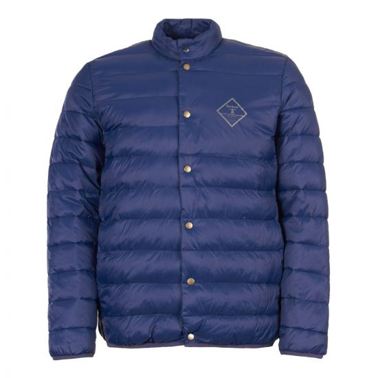 barbour beacon jacket quilted sergeant MQU1075 BL71 navy