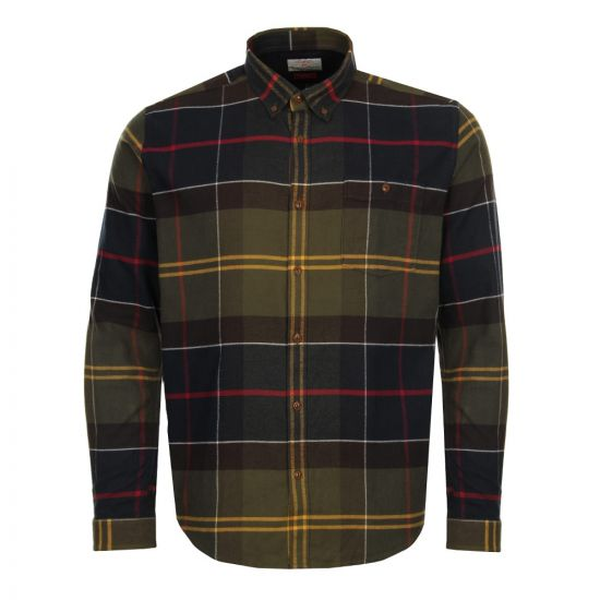 Barbour Shirt Johnny in Classic Tartan