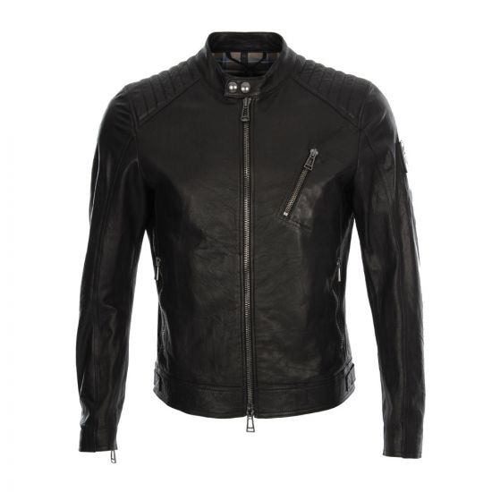 Belstaff K Racer Blouson Leather Jacket in Black
