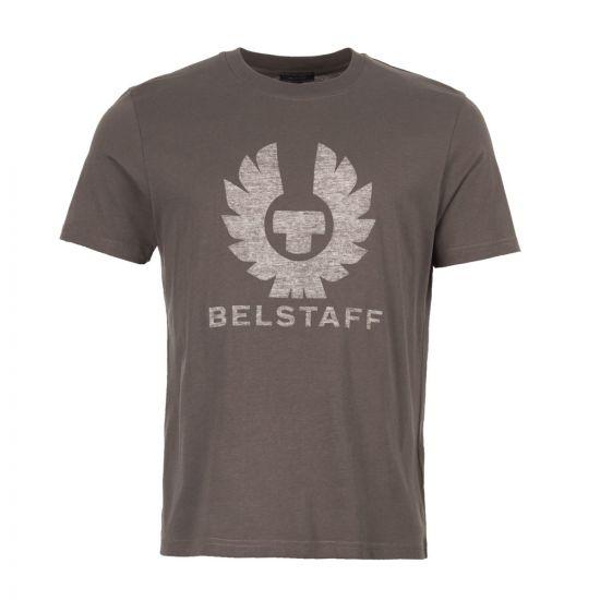 belstaff t-shirt 71140235 J61A0067 90113 vintage pewter