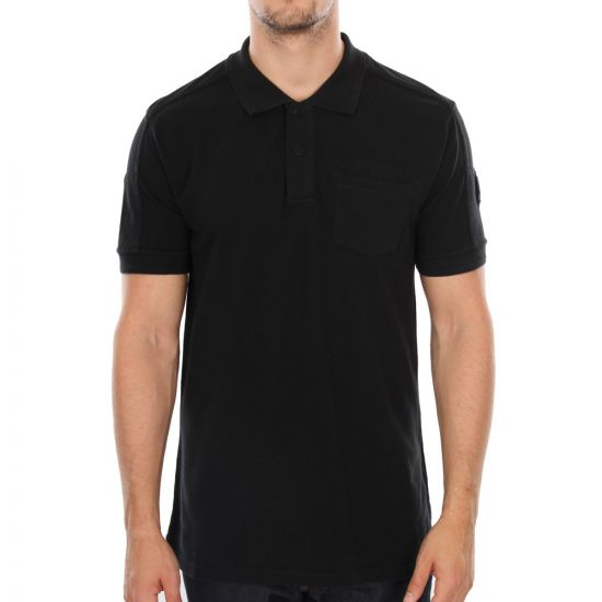 Belstaff Borman Polo Shirt in Black