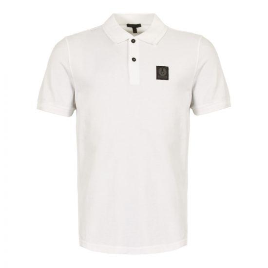 belstaff stannett polo shirt 71140183 J61Q0054 10000 white