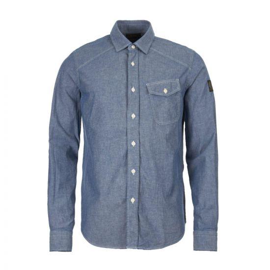 belstaff steadway shirt 71120205 D61A0041 80040 chambray