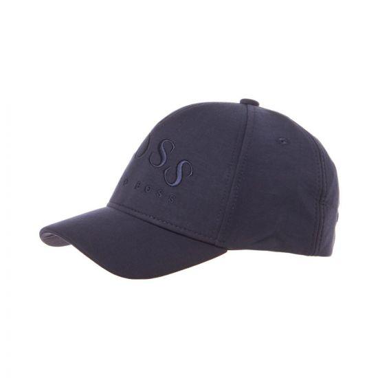 boss athleisure cap sly 50410364 410 navy