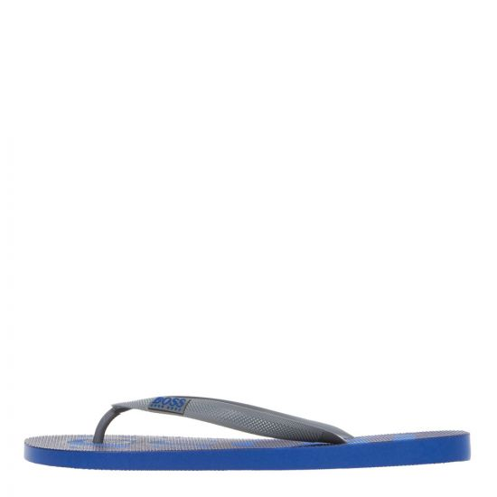 BOSS Flip Flops 50388497 462 Open Blue