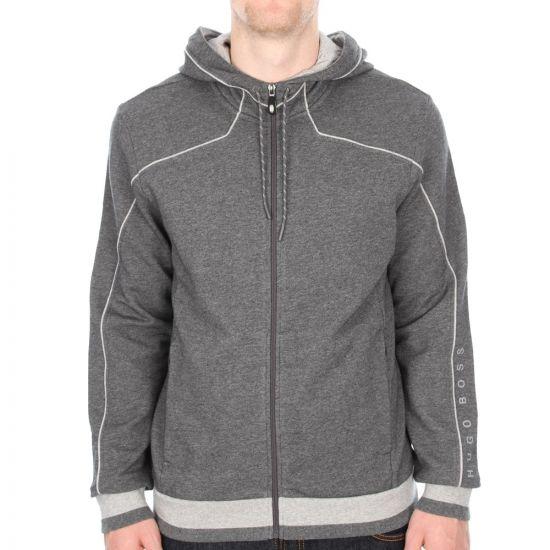 Saggy Hooded Top - Grey