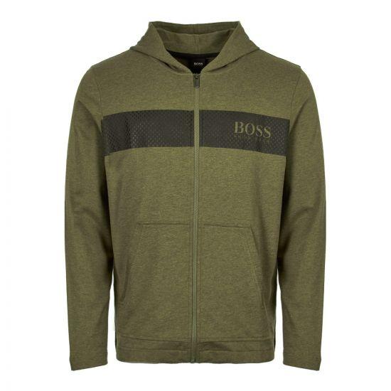boss bodywear hoodie 50403455 307 green