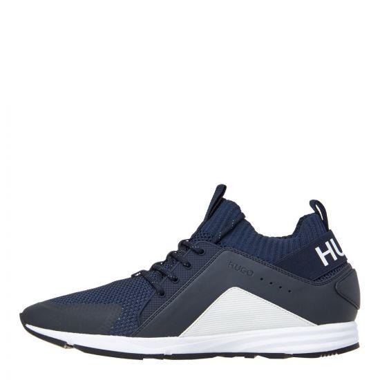 boss hybrid runn trainers 50407728 401 dark blue