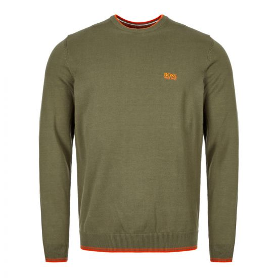 BOSS Athleisure Knitted Sweatshirt 50409595 305 Green