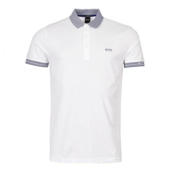 BOSS Athleisure Polo Shirt 50410351 100 White
