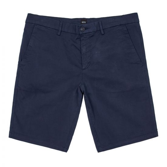 boss athleisure shorts liem4-5 50410981 410 navy