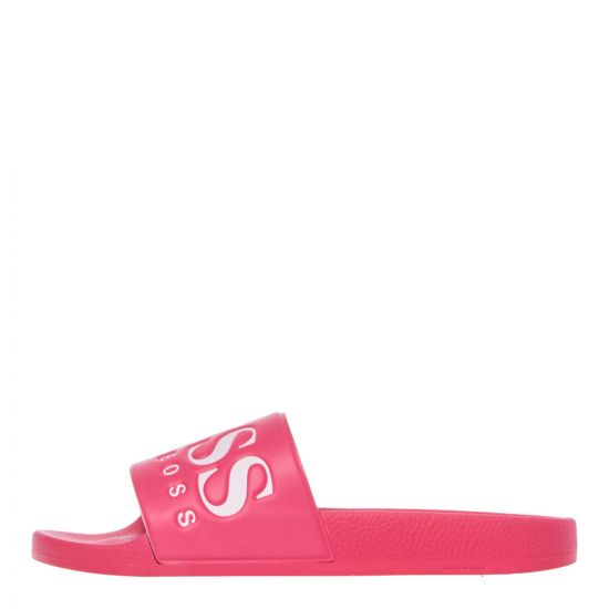 Boss Slides 50409840-677 Pink at Aphrodite