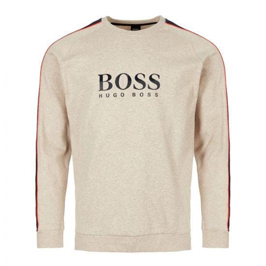 BOSS Bodywear Sweatshirt   50409136 051 Light Pastel Grey