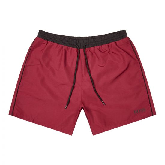 BOSS Bodywear Starfish Swim Shorts 50408104 603 Red