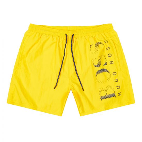 BOSS Bodywear Octopus Swim Shorts 50371268 712 Gold