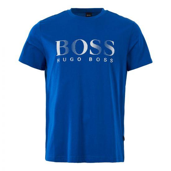 BOSS Bodywear Logo T-Shirt 50332287 422 Blue