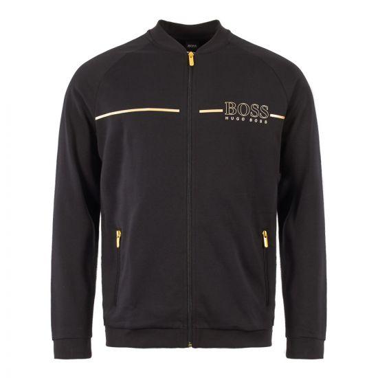 BOSS Bodywear Tracksuit Jacket 50396892 001 Black/Gold