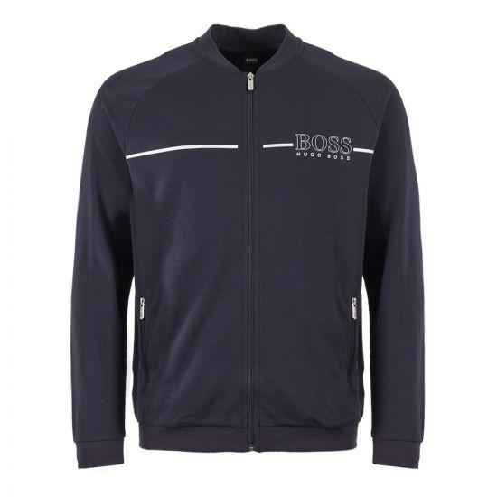 BOSS Bodywear Tracksuit Jacket 50396892 403 Dark Blue