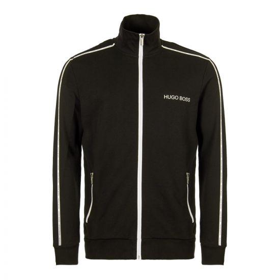 boss bodywear track top 50403153 001 black