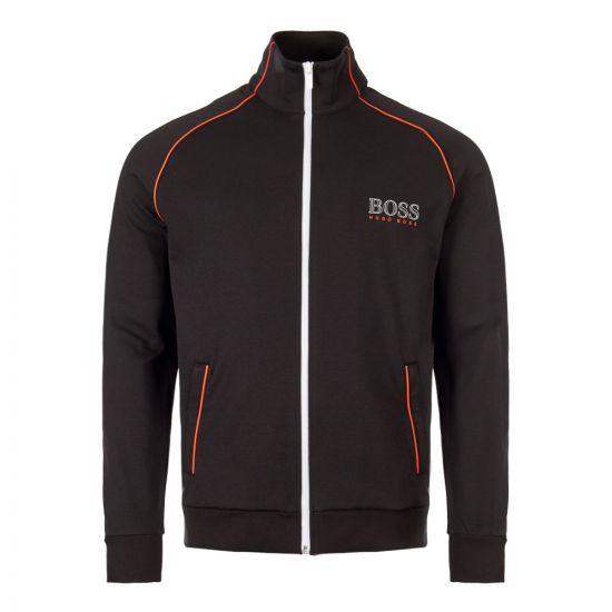 boss bodywear track top 50409118|001 black