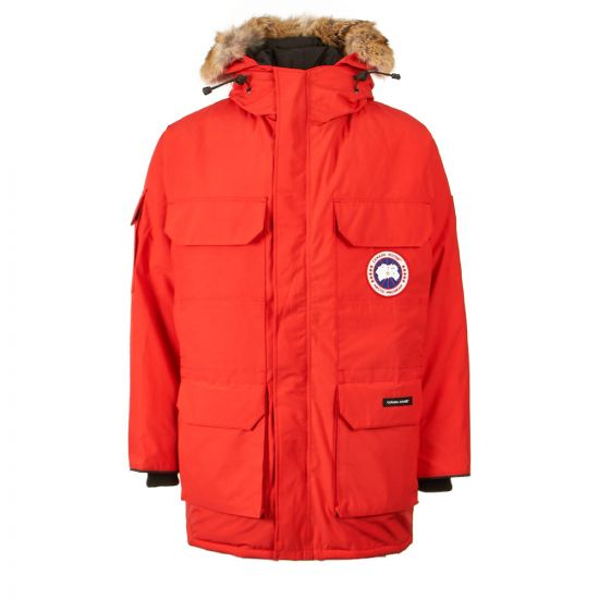 Canada Goose Expedition Parka 4660M 11 Red