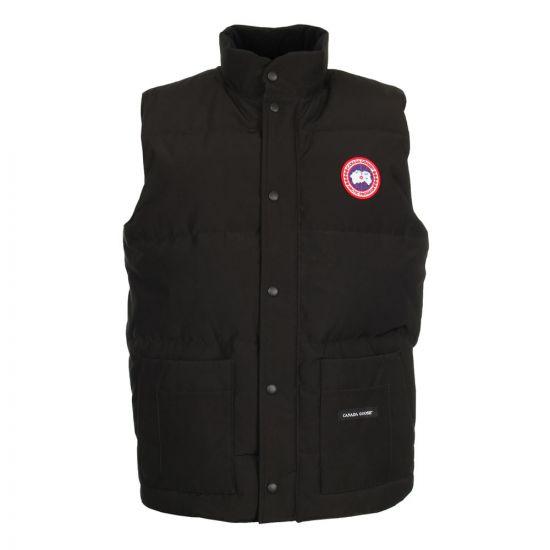 canada goose freestyle crew vest 4154M 61 black